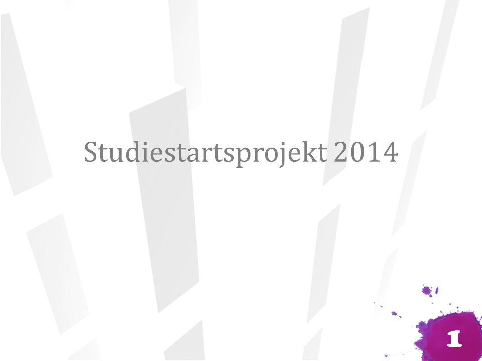 Studiestartsprojekt 2014 1