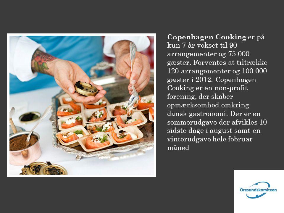 Copenhagen Cooking er på kun 7 år vokset til 90 arrangementer og 75.000 gæster.