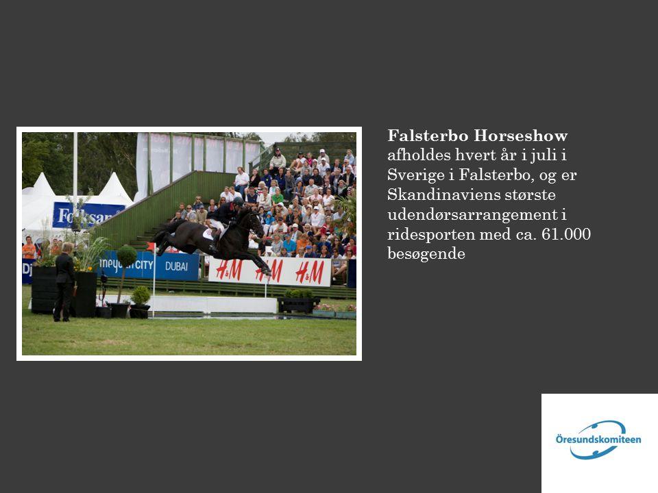 Falsterbo Horseshow afholdes hvert år i juli i Sverige i Falsterbo, og er Skandinaviens største udendørsarrangement i ridesporten med ca.