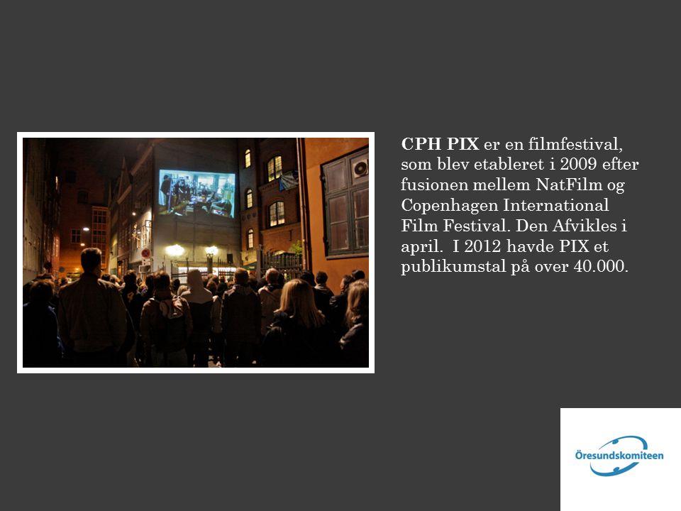 CPH PIX er en filmfestival, som blev etableret i 2009 efter fusionen mellem NatFilm og Copenhagen International Film Festival.