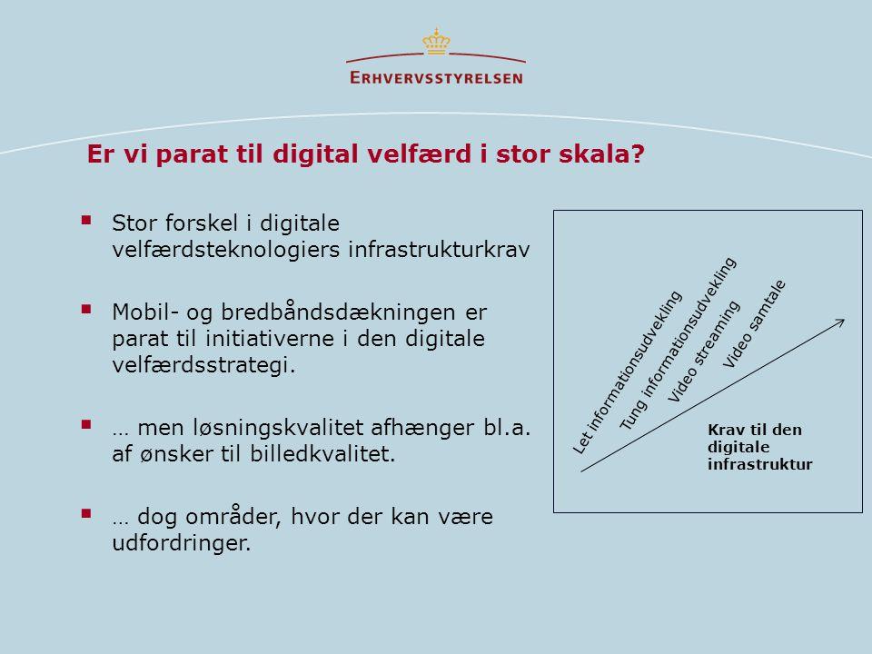 Er vi parat til digital velfærd i stor skala.