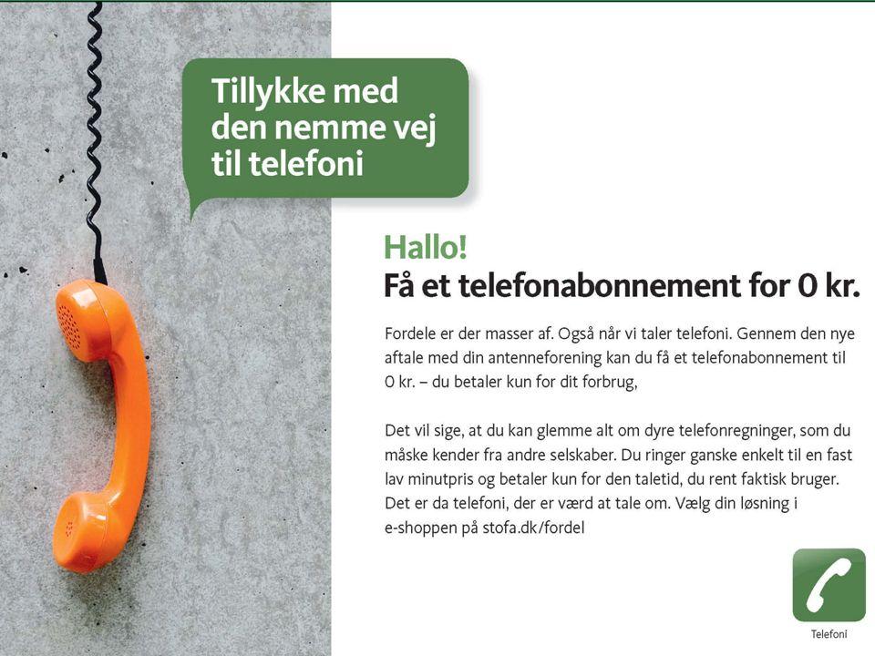 Telefonabn. kr. 0,- !