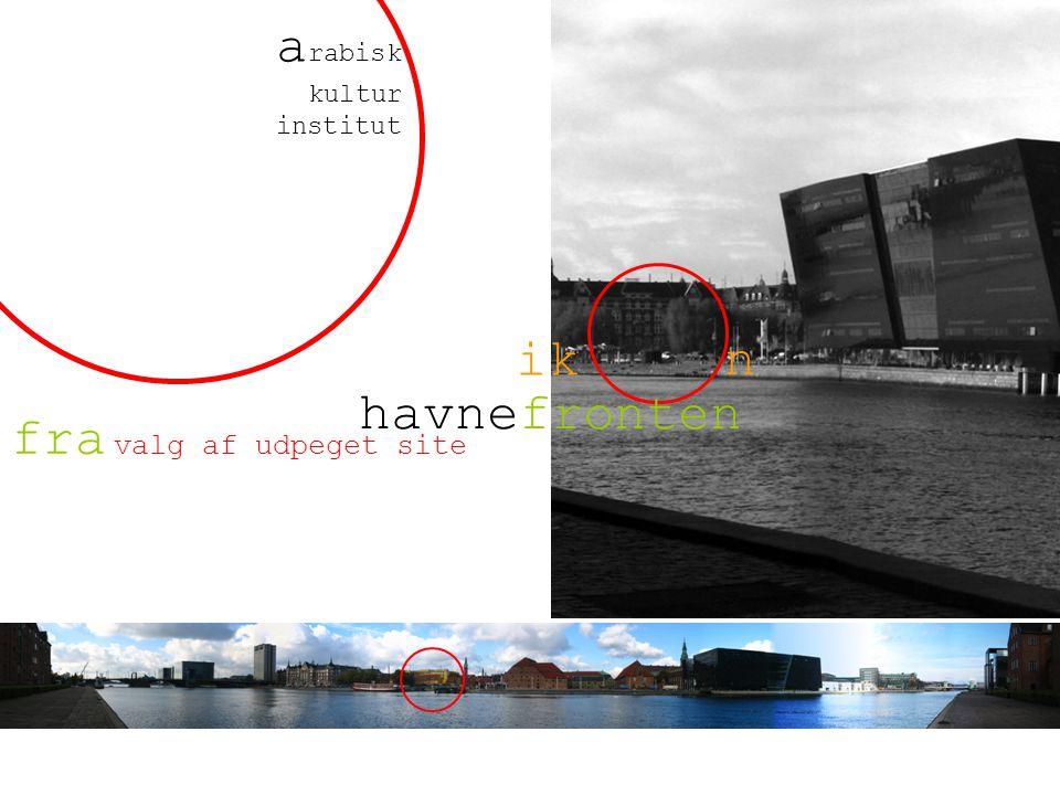 valg af udpeget site fra havnefronten ik n a rabisk kultur institut