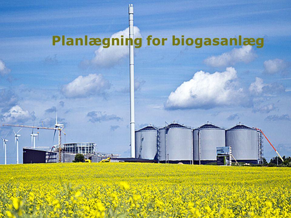 1 Planlægning for biogasanlæg