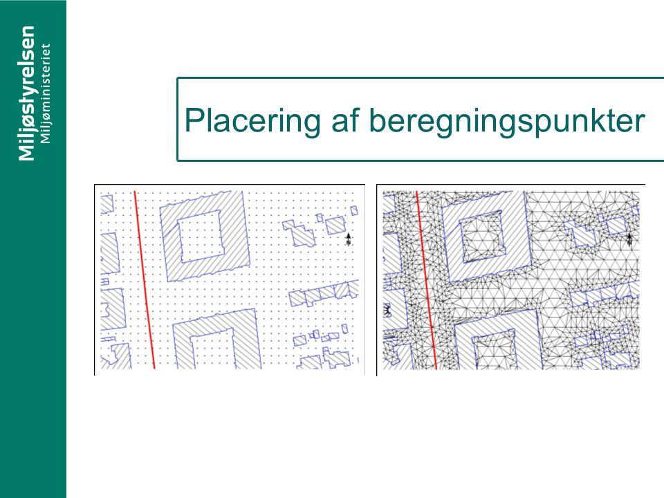 Placering af beregningspunkter