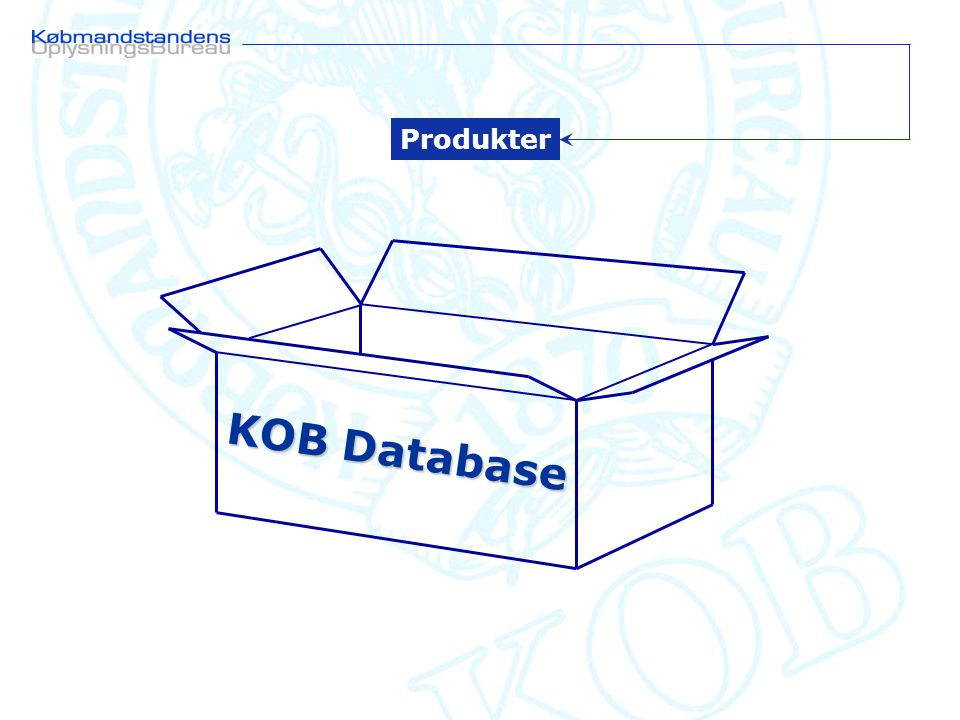 KOB Database Produkter
