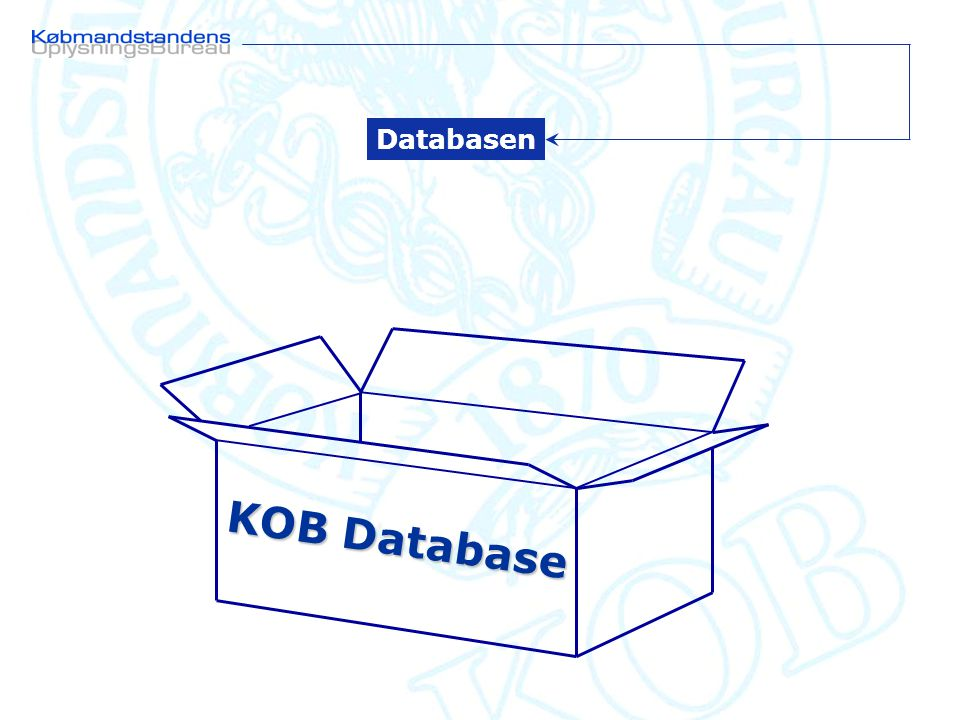 KOB Database Databasen