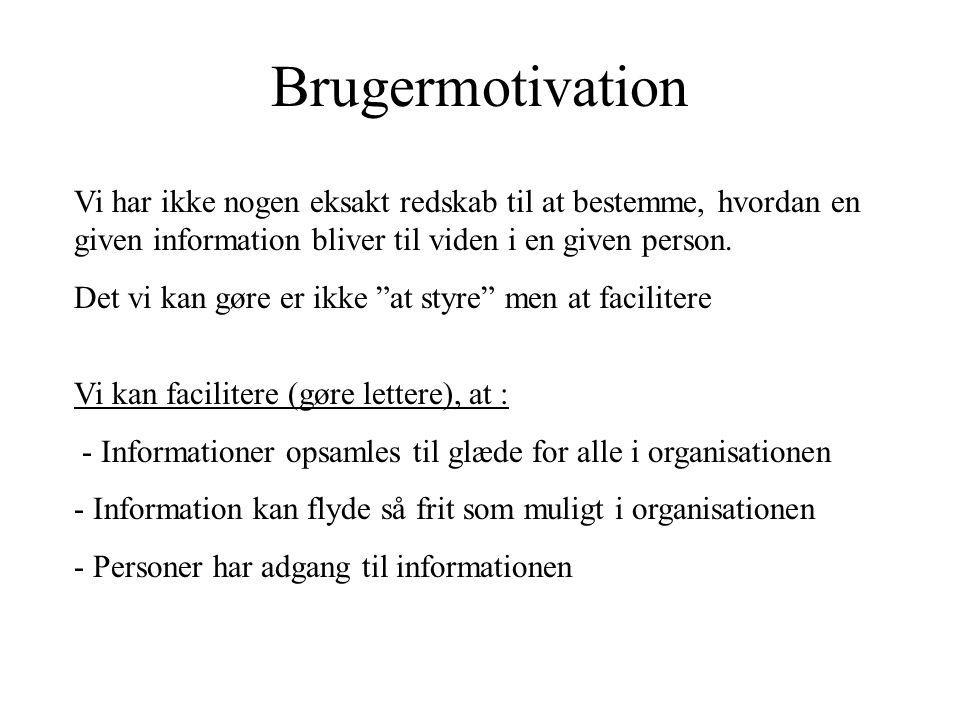 organisationens centrale delsystemer