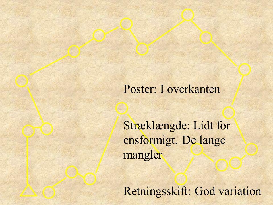 Poster: I overkanten Stræklængde: Lidt for ensformigt.