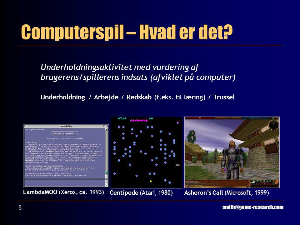 5 Computerspil – Hvad er det.