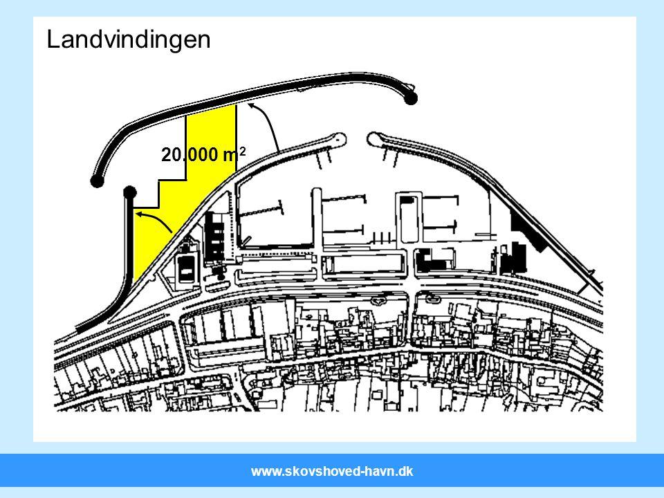 www.skovshoved-havn.dk 20.000 m 2 Landvindingen