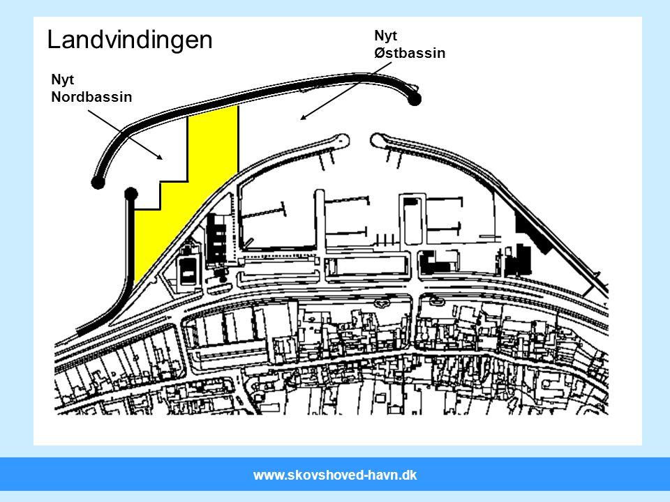 www.skovshoved-havn.dk Nye bassiner Landvindingen Nyt Nordbassin Nyt Østbassin