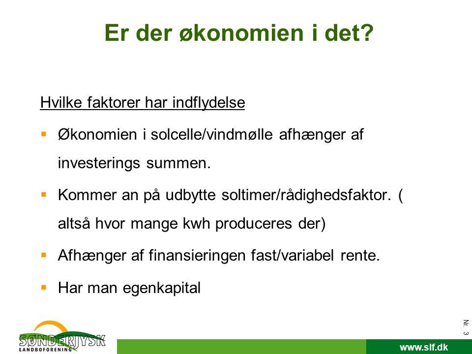 www.slf.dk Er der økonomien i det.