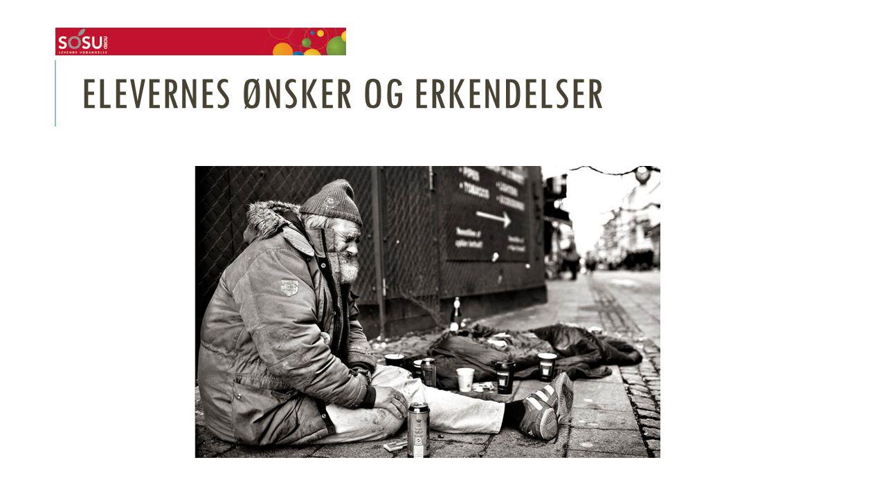 ELEVERNES ØNSKER OG ERKENDELSER