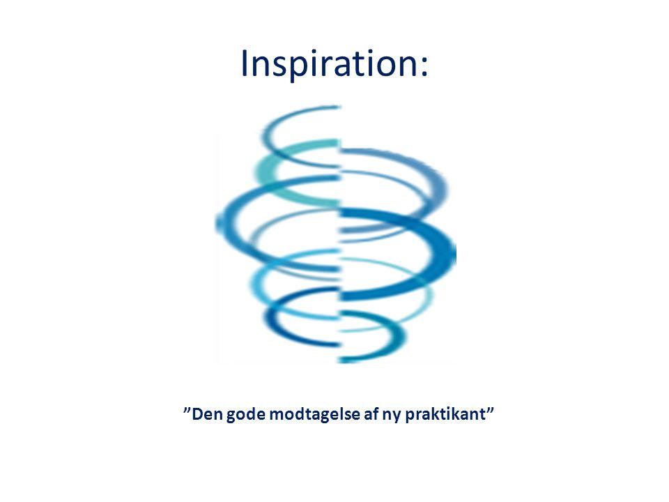 Inspiration: Den gode modtagelse af ny praktikant