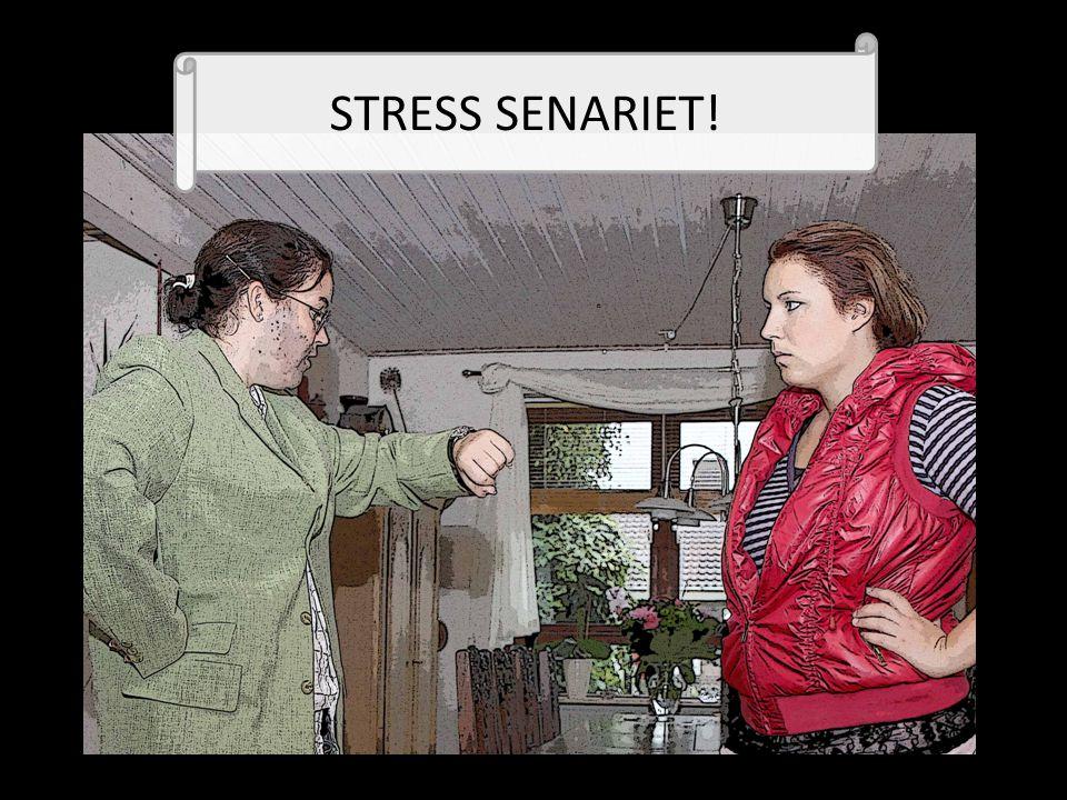 STRESS SENARIET!