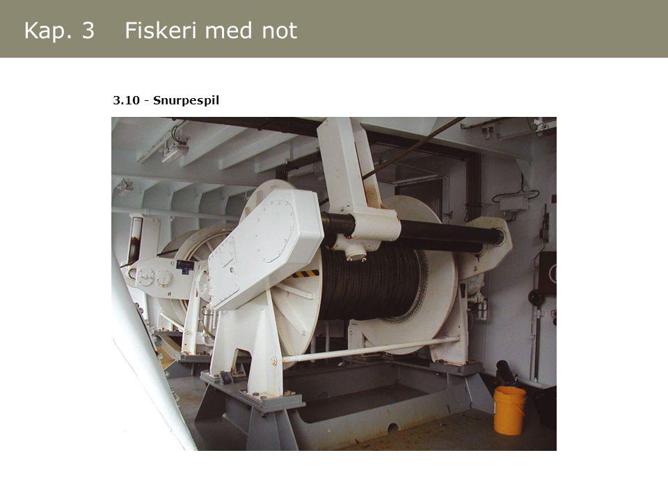 3.10 - Snurpespil Kap. 3 Fiskeri med not