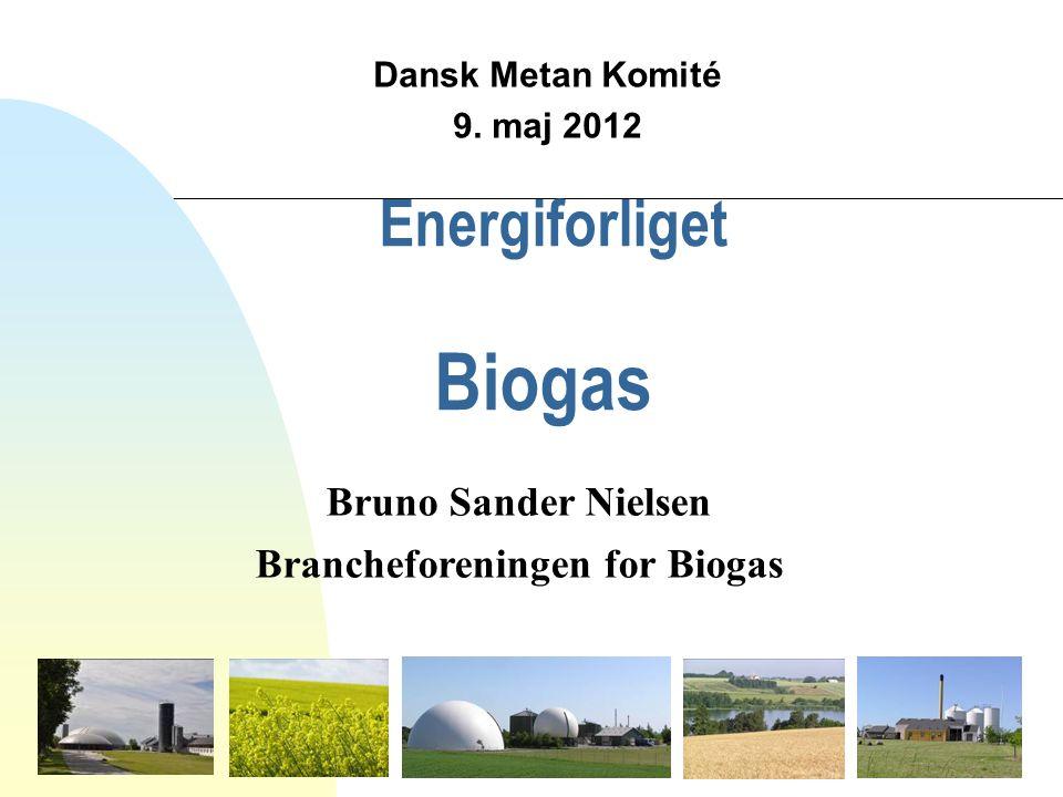 Energiforliget Biogas Dansk Metan Komité 9.