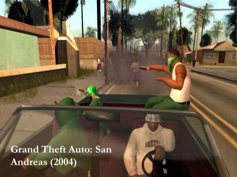 SPIL OG VOLD – HVAD VAR EGENTLIG SPØRGSMÅLET 2 Grand Theft Auto: San Andreas (2004)
