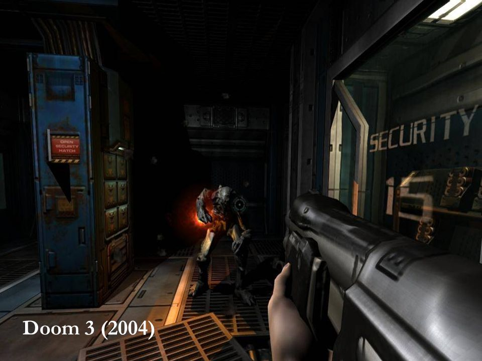 SPIL OG VOLD – HVAD VAR EGENTLIG SPØRGSMÅLET 4 Halo 2 (2004) Doom 3 (2004)