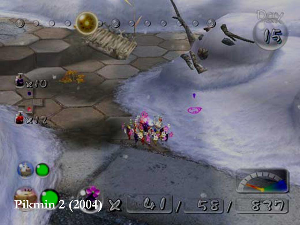 SPIL OG VOLD – HVAD VAR EGENTLIG SPØRGSMÅLET 5 Halo 2 (2004) Pikmin 2 (2004)