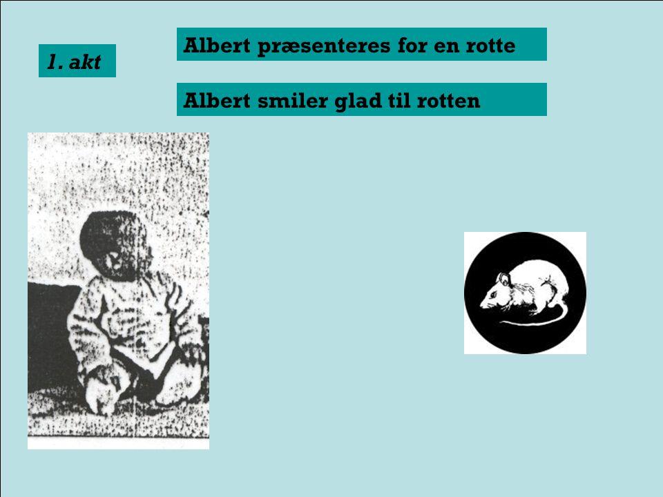 John B. Watson & Rosalie Rayner: Conditioned emotional reactions 1920. Forsøget med Lille Albert.