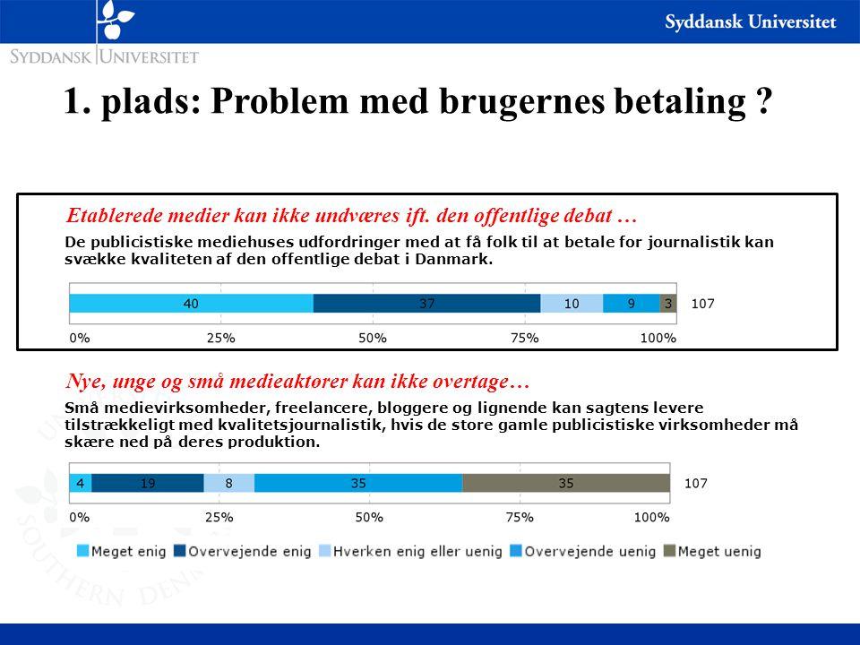 De publicistiske mediehuses udfordringer med at få folk til at betale for journalistik kan svække kvaliteten af den offentlige debat i Danmark.