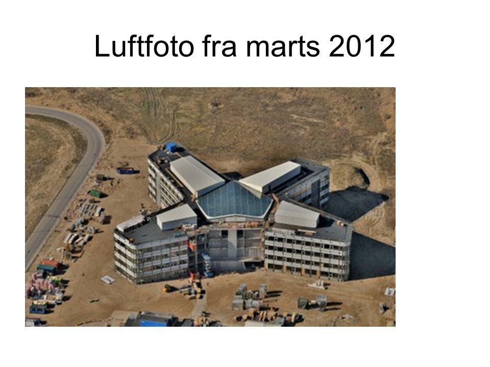 Luftfoto fra marts 2012