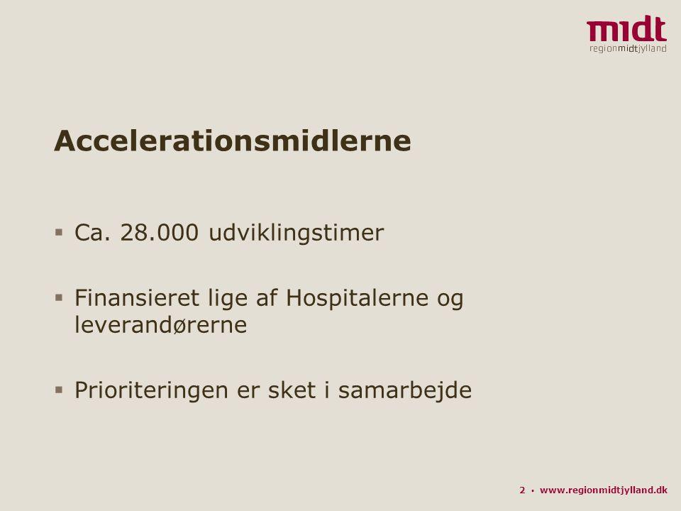 2 ▪ www.regionmidtjylland.dk Accelerationsmidlerne  Ca.