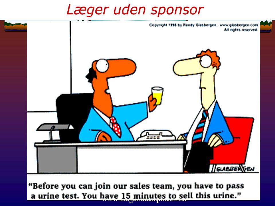 www.laegerudensponsor.dk