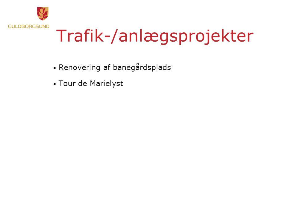 Trafik-/anlægsprojekter Renovering af banegårdsplads Tour de Marielyst