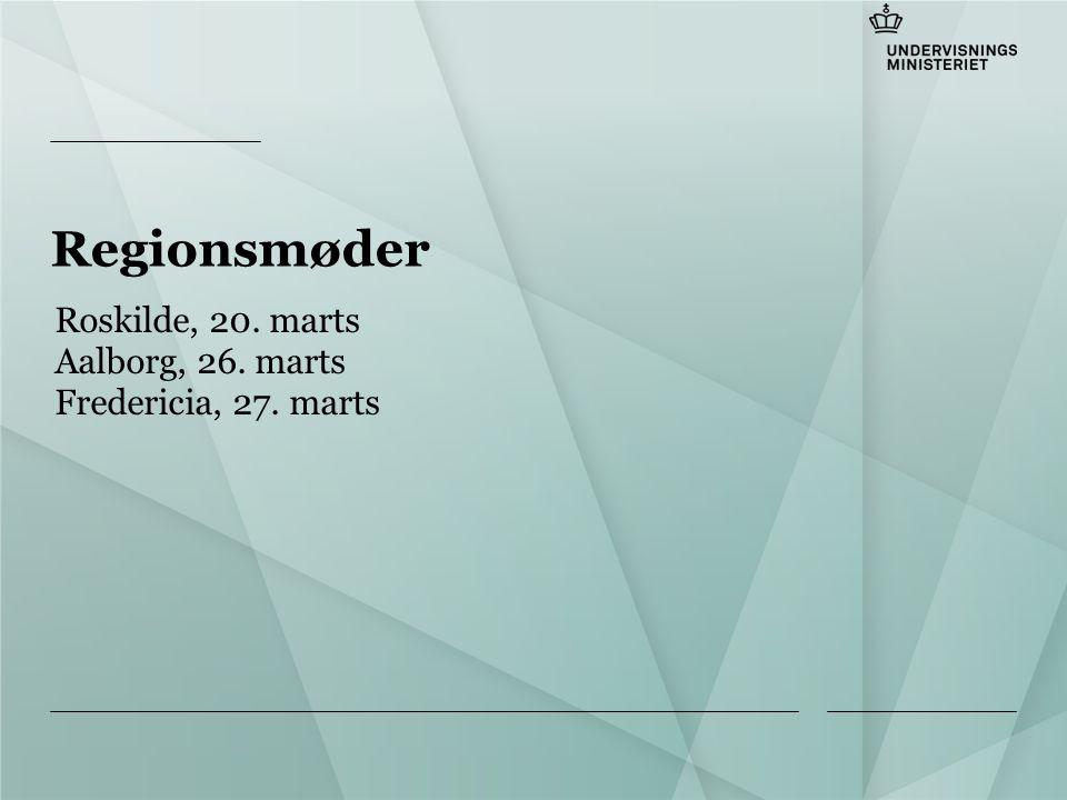 Tilføj hjælpelinier: 1.Højreklik et sted i det grå område rundt om dette dias 2.Vælg 'Gitter og Hjælpelinier...' 3.Tilvælg 'Vis hjælpelinier på skærm' Regionsmøder Roskilde, 20.