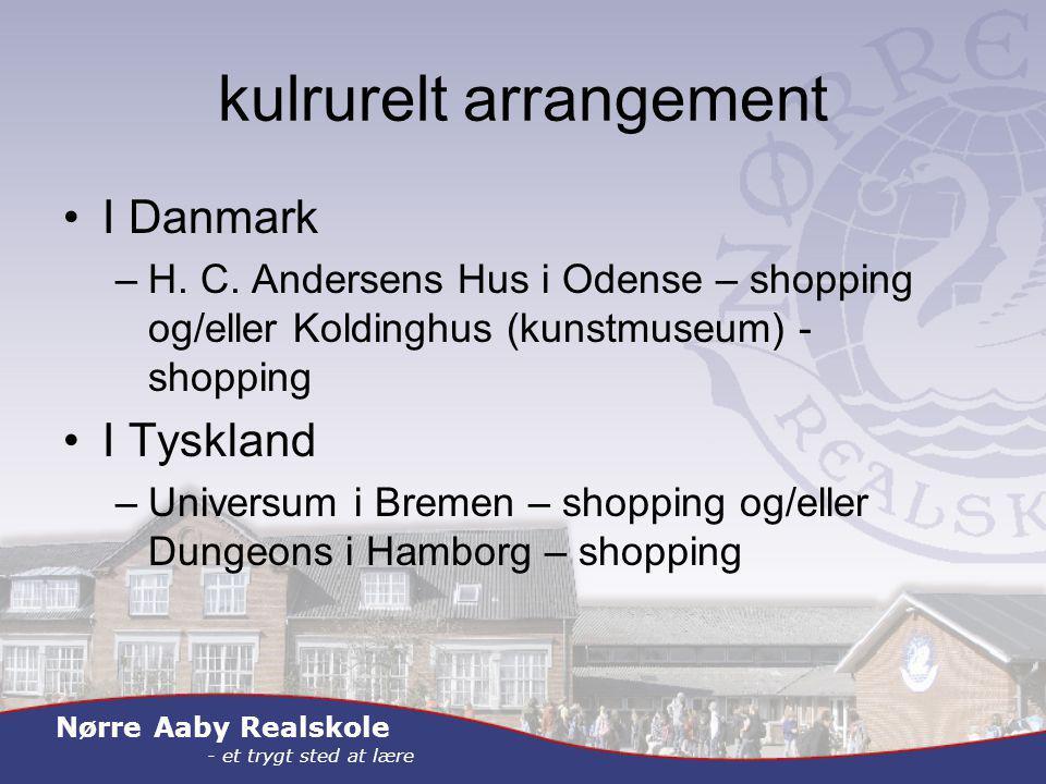 Nørre Aaby Realskole - et trygt sted at lære kulrurelt arrangement I Danmark –H.