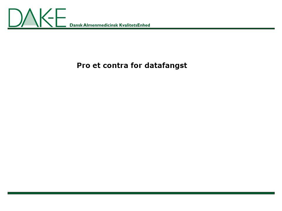 Pro et contra for datafangst