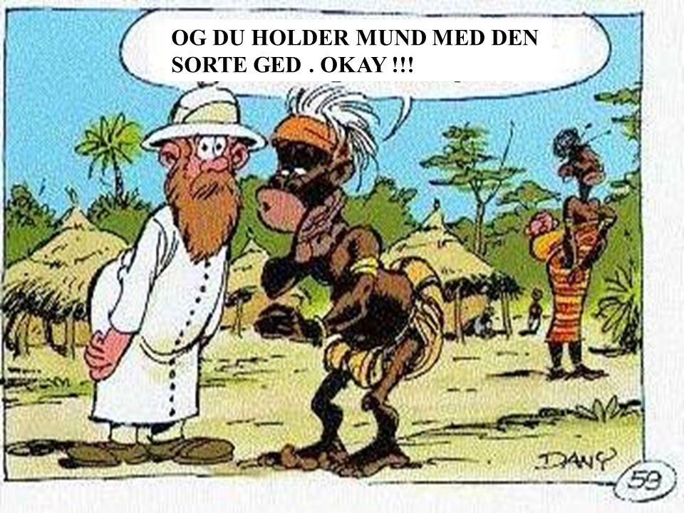 OG DU HOLDER MUND MED DEN SORTE GED. OKAY !!!
