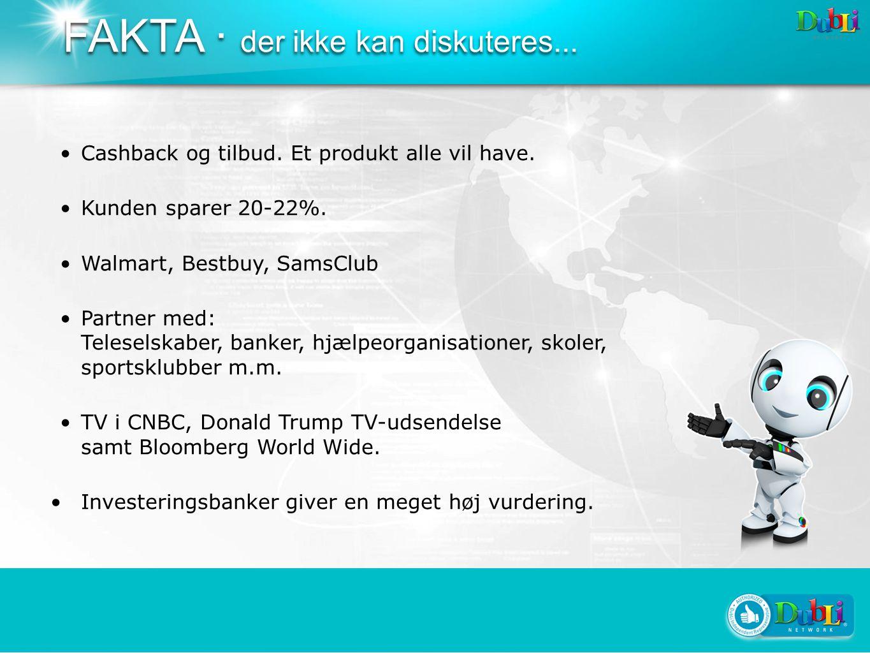 FAKTA · der ikke kan diskuteres... Cashback og tilbud.