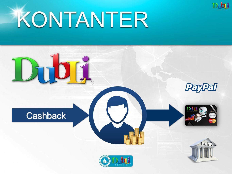 CashbackCashback KONTANTER