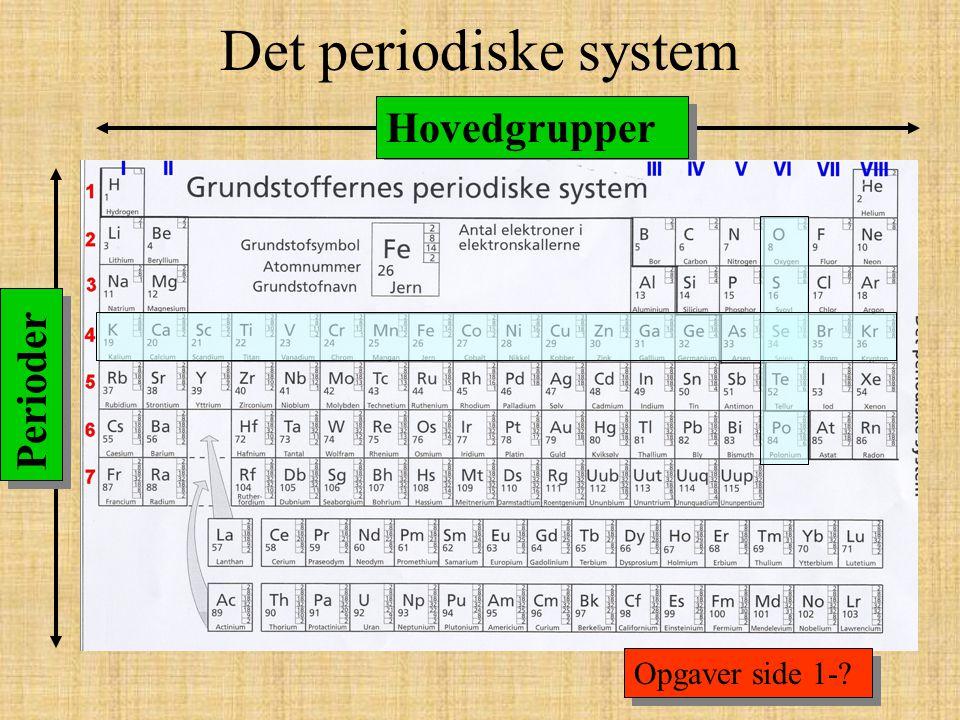 Kemiske forbindelser Rene grundstoffer: O 2, H 2, Cu, Au, Ag, Cl …… Kemiske forbindelser er når to eller flere grundstoffer går sammen: H 2 O, CO 2, HCl, HNO 3, C 6 H 12 O 6