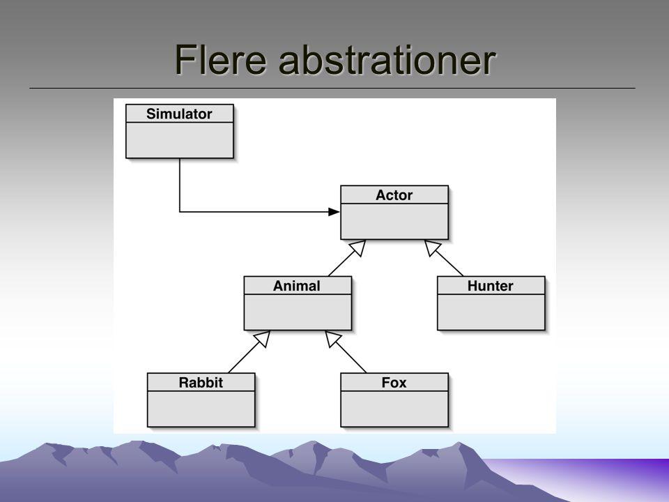 Flere abstrationer