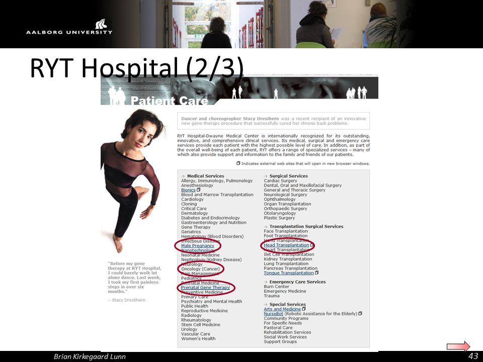 Brian Kirkegaard Lunn 43 RYT Hospital (2/3)