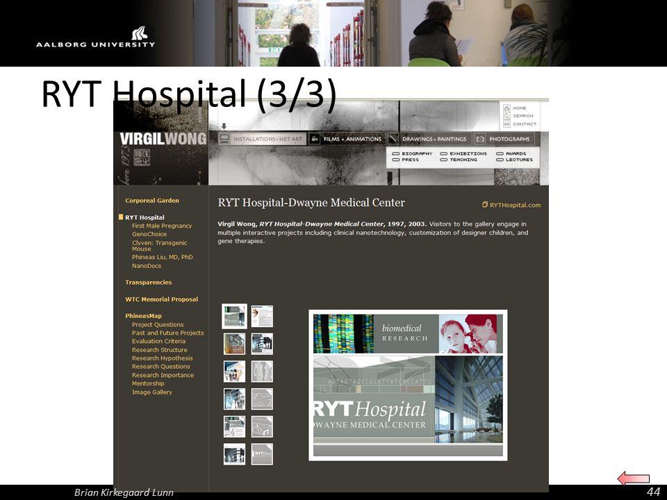 Brian Kirkegaard Lunn 44 RYT Hospital (3/3)
