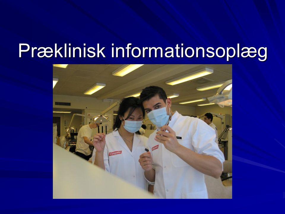 Præklinisk informationsoplæg