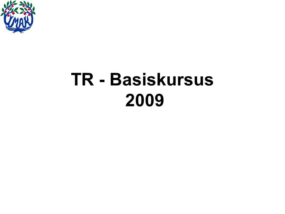 TR - Basiskursus 2009