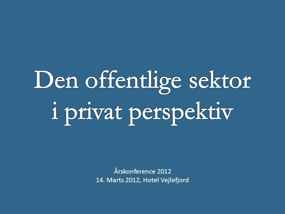 Årskonference 2012 14. Marts 2012, Hotel Vejlefjord