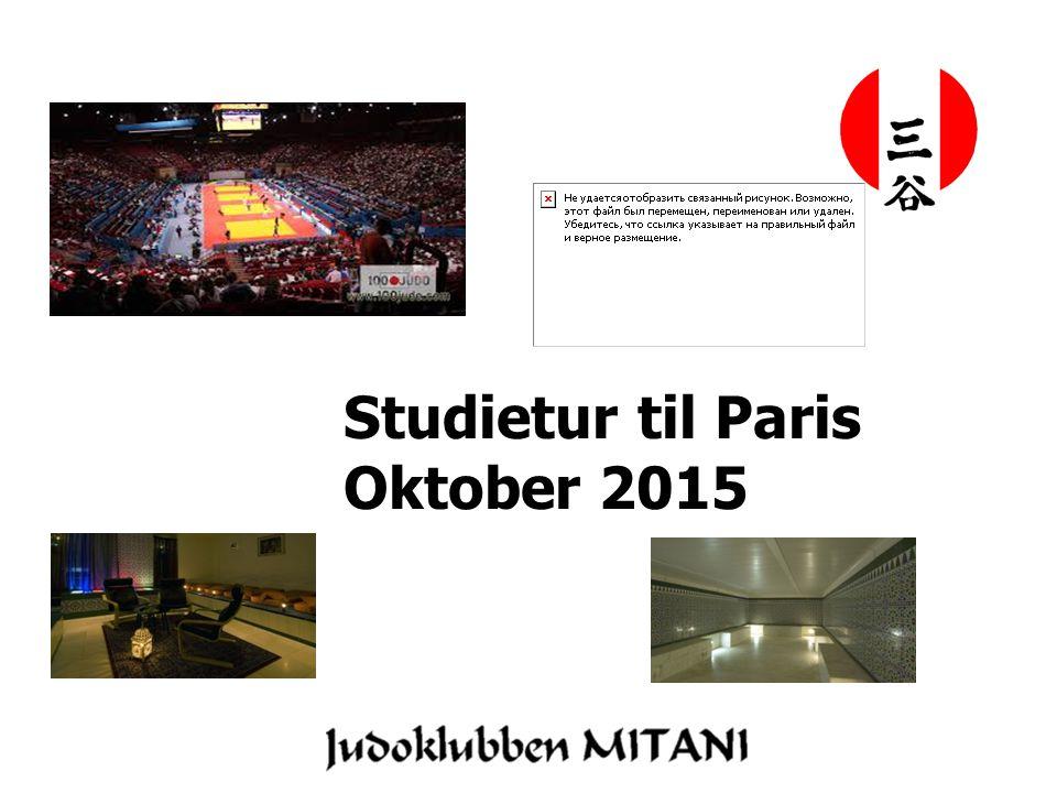 Studietur til Paris Oktober 2015