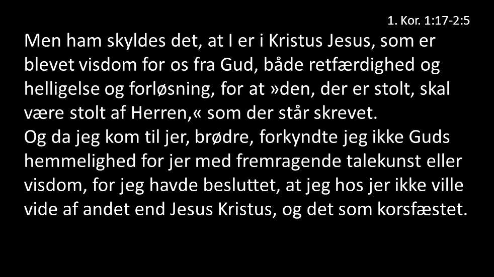 1. Kor.