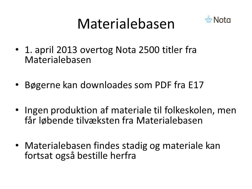 Materialebasen 1.