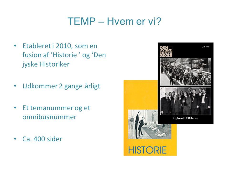 TEMP – Hvem er vi.
