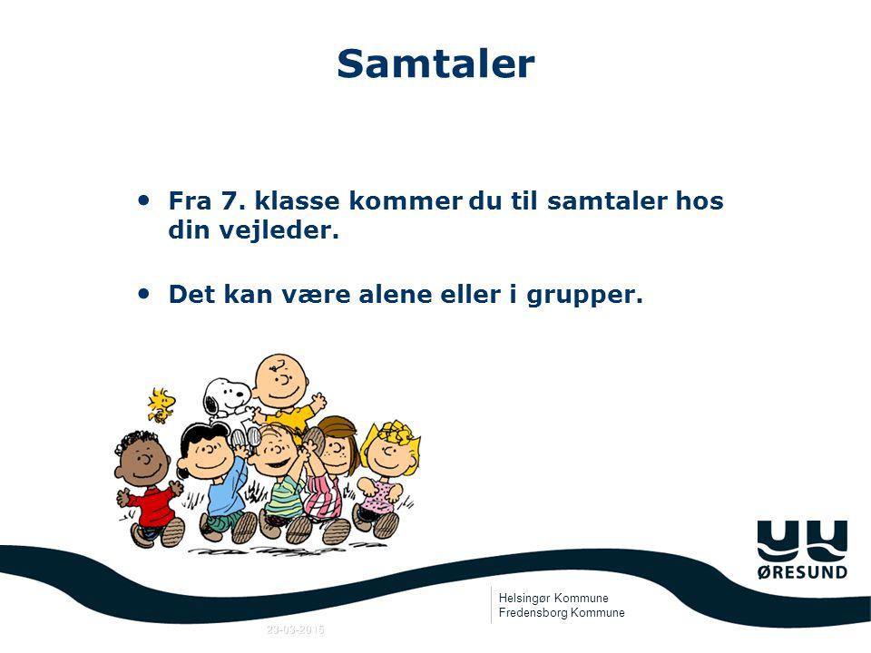 Helsingør Kommune Fredensborg Kommune 23-03-2015 U-Plan (Uddannelsesplan) 1.