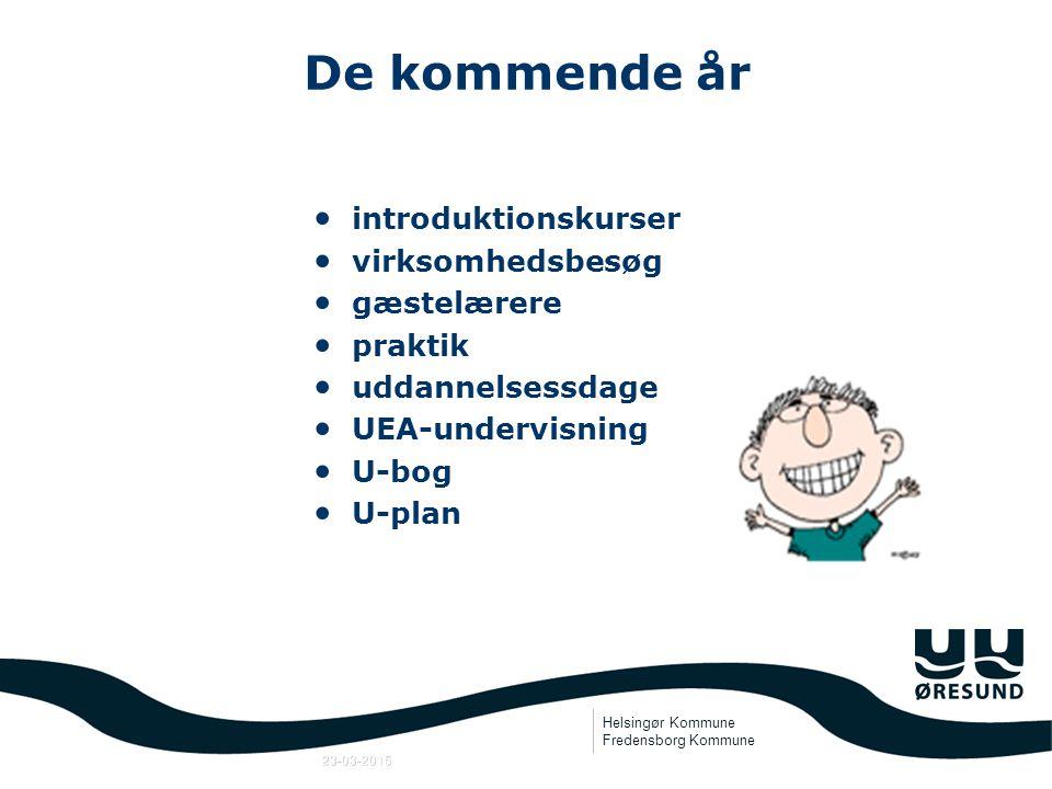 Helsingør Kommune Fredensborg Kommune 23-03-2015 Samtaler Fra 7.